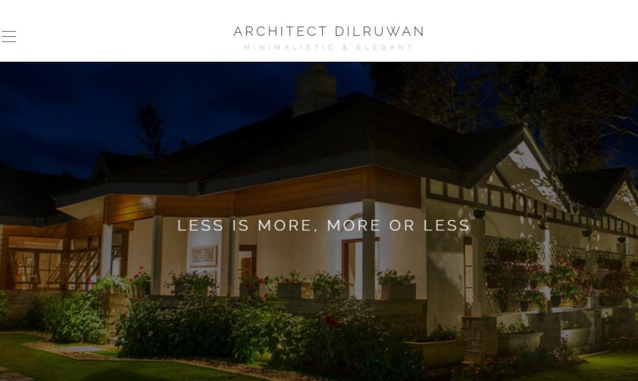 Architect Dilruwan